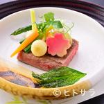 川甚 - 肉料理の一例『十勝牛ステーキ』