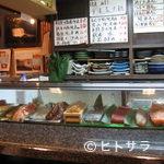 千石寿司 - カウンターでのお寿司
