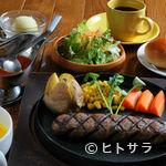 ハンバーグ専門店 IZUTSUYA - 店長おすすめセット 和牛ハンバーグのお得なセット