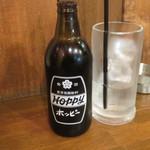 立呑み 魚平 - ホッピーセット(黒)