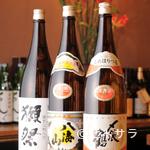 まんだりん - 日本酒も豊富にご用意