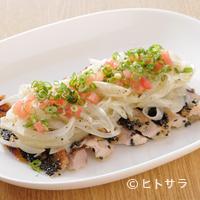 まんだりん - 鶏のカルパッチョ