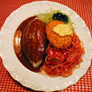 レストランあづま - ボリューム満点のあづスパ