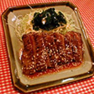 レストランあづま - 柔かくジューシーな和風ステーキ