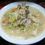 金龍 - 揚州沙麺(焼きそば) 800円
