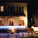 ア ピアチェーレ - 夜は、また違った雰囲気に!