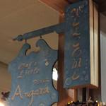 リトル・アンジェラ - 看板。