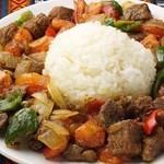 チョパンカウルマ《ラムと野菜のソテー》