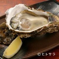 空海 - 新鮮な岩牡蠣