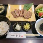 65084277 - 「熟成牛たん定食」(1296円)