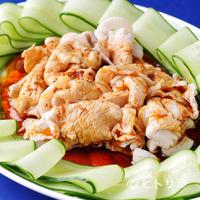 錦城 - 食材の持ち味を最大限に引き出した『雲白肉』(ウンパイロウ)