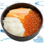 海鮮丼の浦島 - 【いくら・ズワイカニ・えんがわ】