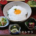 わいわい - 県産長芋とろろ丼(県産長芋を使ったサービスメニュー)