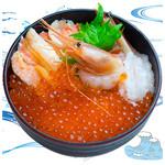 海鮮丼の浦島 - 【いくら・ズワイカニ・甘えび】