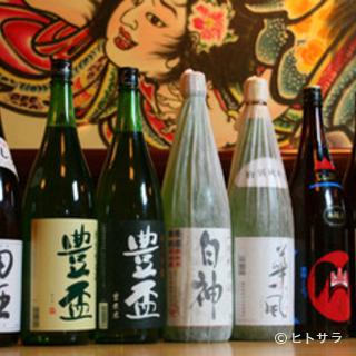 津軽のお酒多数取り揃えています。