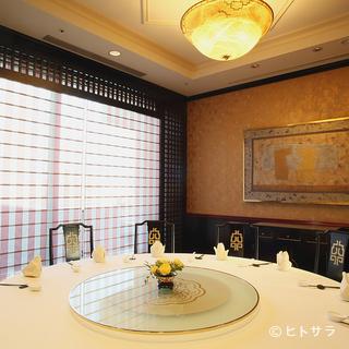 6〜24名で利用できる個室完備。素晴らしい眺望も楽しめます