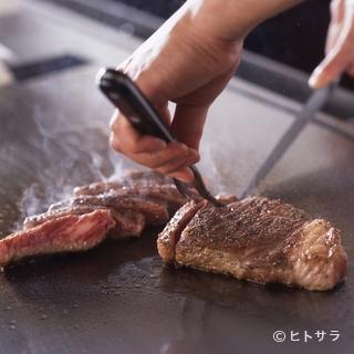 名古屋マリオットアソシアホテル18階の鉄板焼レストラン