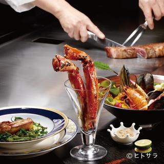 素材そのものの旨みを堪能。質にこだわった高級食材と旬の野菜