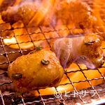 ホルモン清香園 - 丸腸  炭火で焼いて余分な脂を落として頂きます!