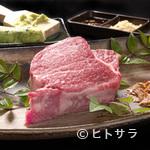 焼肉亭おぐり - 特撰和牛シャトーブリアンステーキコース