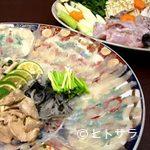 石松寿司 - ふぐコース(前日までに要予約)