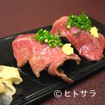 石松寿司 - 豊後牛のにぎり