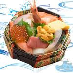 海鮮丼の浦島 - 【おみやげ海鮮丼うに入り】