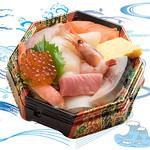 海鮮丼の浦島 - 【おみやげ海鮮丼うにナシ】