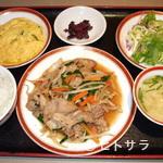 とうりえん - 豚肉スタミナ焼定食