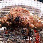 大名やぶれかぶれ - 備長炭で焼く豚足