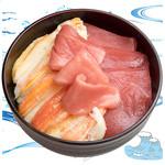 海鮮丼の浦島 - 【ズワイカニ・本まぐろ・中トロ】