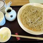 蕎麦 二天 - 料理写真:ざる天盛りセット_1,150円の蕎麦