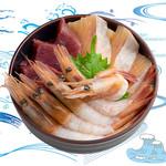 海鮮丼の浦島 - 【本まぐろ・サーモン・甘えび】