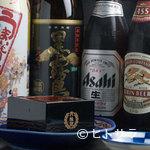 信秀本店 - ビールや焼酎各種揃う