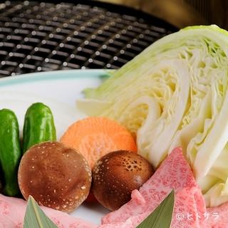 みずみずしい野菜も絶妙な味わい
