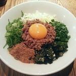 アンズキッチン - 【台湾まぜそば(追いメシ付き)】¥779