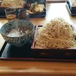 瀧口 - 料理写真:肉汁せいろ+大盛り