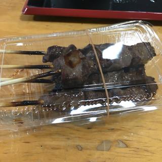 宝鄙 - 料理写真:飛騨牛串焼き