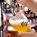 ヴィレッジ ヴァンガード ダイナー - 種類豊富なビールもおすすめ★ランチタイムは250円で提供中