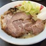 麺人佐藤 - 鯛アラだしスープ 塩 650円