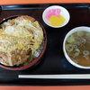 Hachiyashokudou - 料理写真:カツ丼(800円)