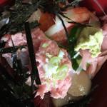 幸寿司 - 日替りランチのごはん部のアップ