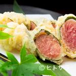 きんぎょ - 薄衣で博多名物にひと味プラス『博多明太子の天ぷら』