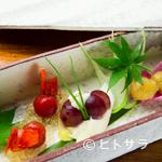 きんぎょ - 前菜三種盛り合わせ