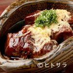 炭火焼肉 白山 - 牛タンスジ とろとろ煮 (ポン酢orデミグラスソース)