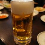 65094870 - 生ビール(サッポロ黒ラベル) 580円+税