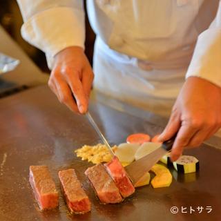 全国的に有名になった伊万里牛のステーキを堪能すべし!!