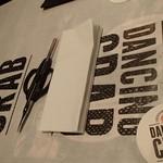 ダンシング クラブ - この紙の上に、もうすぐクラブバッグが・・・