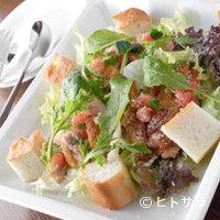 菜もん - 新鮮野菜とカリカリチキンのサラダ