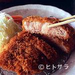 吉井十八 - この肉厚で、箸で切れるほどのやわらかさ